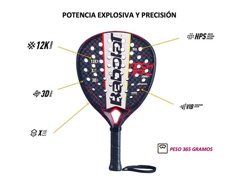Las palas de pádel de los profesionales: Esta es la pala de Juan Lebrón