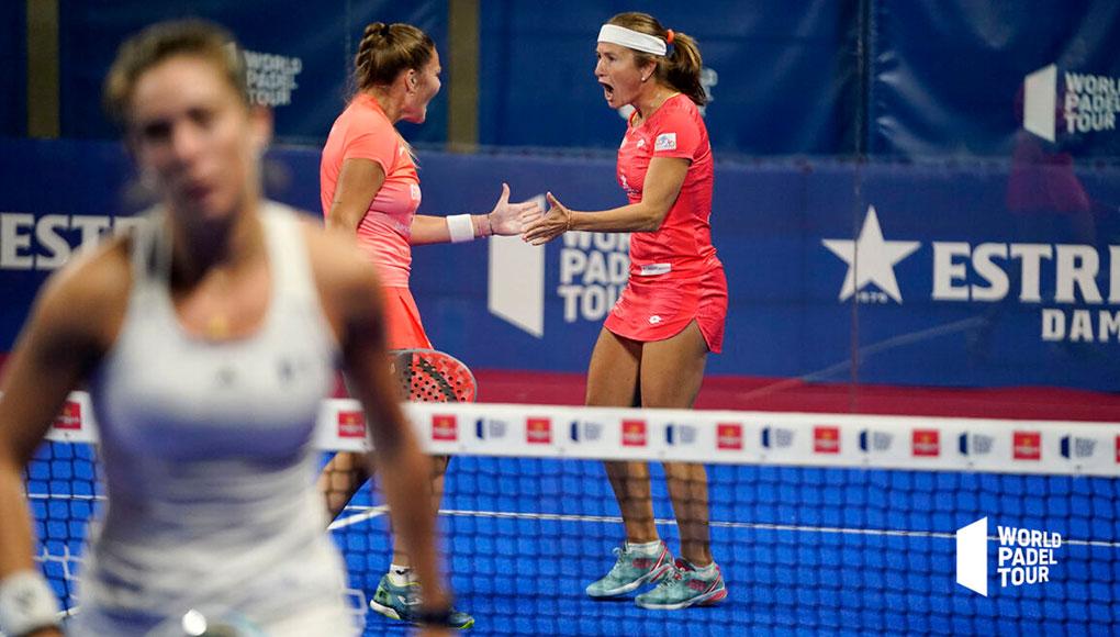 Carolina Navarro y Aranza Osoro derrotan a las número 3