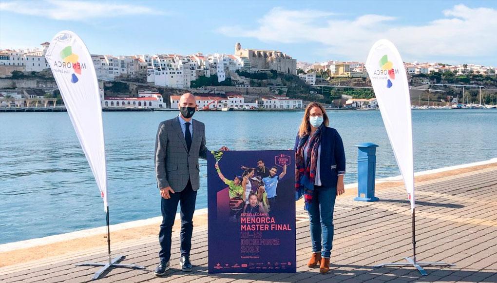 El Estrella Damm Master Final 2020 se disputará en Menorca