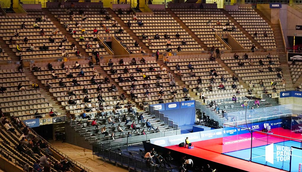 El primer torneo con público, en Barcelona