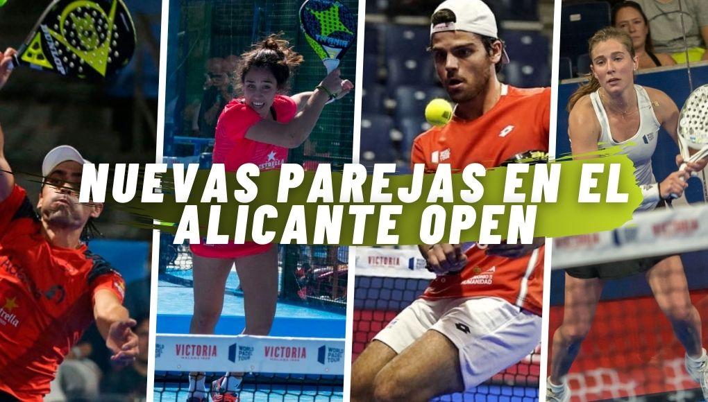 Nueva oleada de nuevas parejas para el Alicante Open de la próxima semana