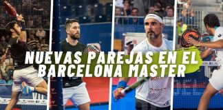 Repasamos cuáles son las nuevas parejas en el Estrella Damm Barcelona Master