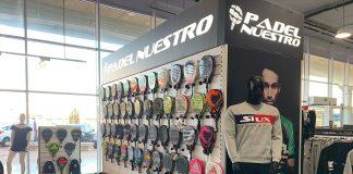 Padel Nuestro estrena nueva tienda en Intersport Ademuz