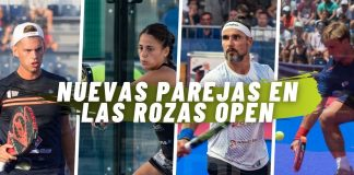 Te contamos cuáles son las nuevas parejas en Las Rozas Open 2020