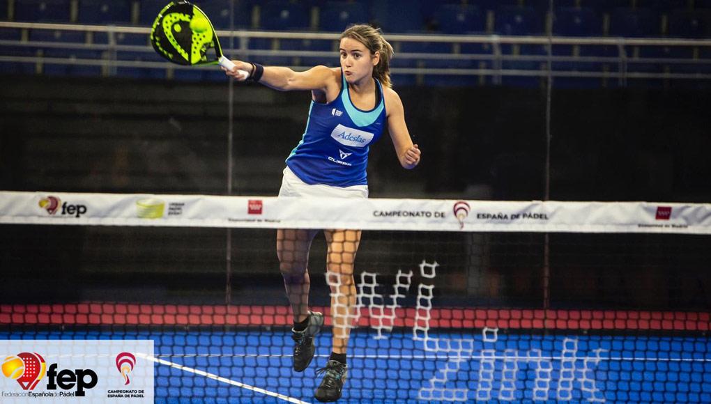 Ariana Sánchez y Ale Salazar arrancaron con victoria en el Campeonato de España de Pádel