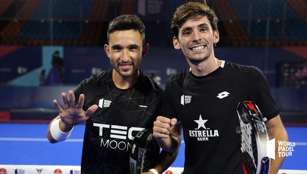 Sanyo Gutiérrez y Franco Stupaczuk jugará en el Estrella Damm Menorca Master Final