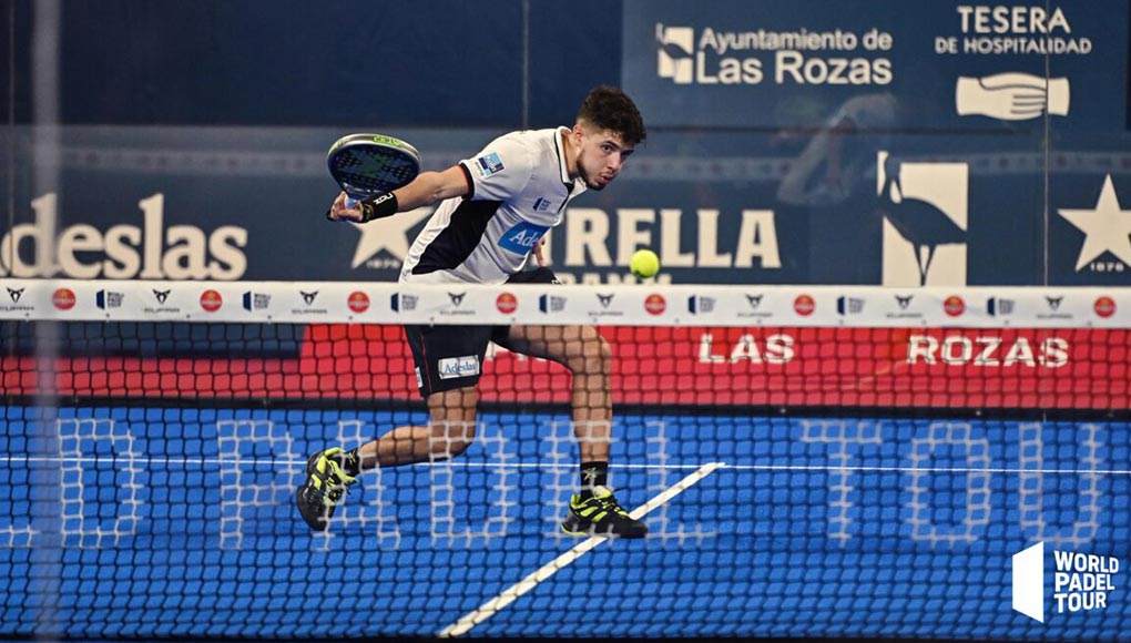 Agustín Tapia protagonizó la jugada surrealista de Las Rozas Open
