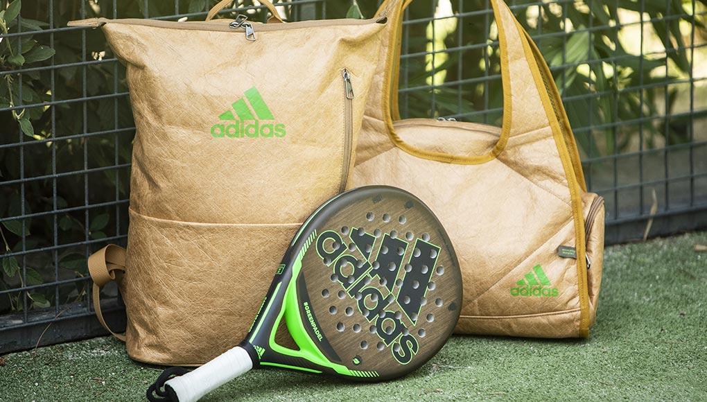 adidas padel lanza su primera pala fabricada en lino 100% ecológico