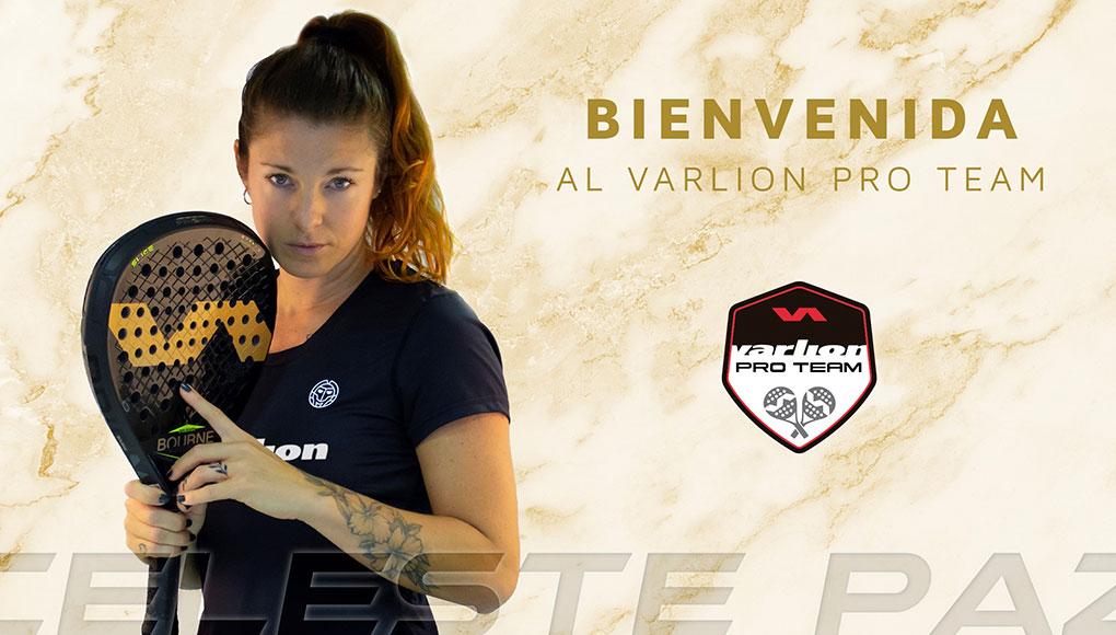 Celeste Paz se incorpora al Varlion Pro Team