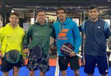 Partido de entrenamiento entre Martin Di Nenno y Paquito Navarro contra Juan Lebrón y Ale Galán