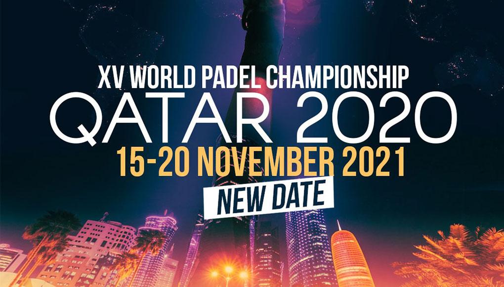 Ya se conoce la fecha del XV Campeonato Mundial de Pádel