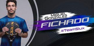 El melillense Miguel González, nuevo jugador del Team Siux