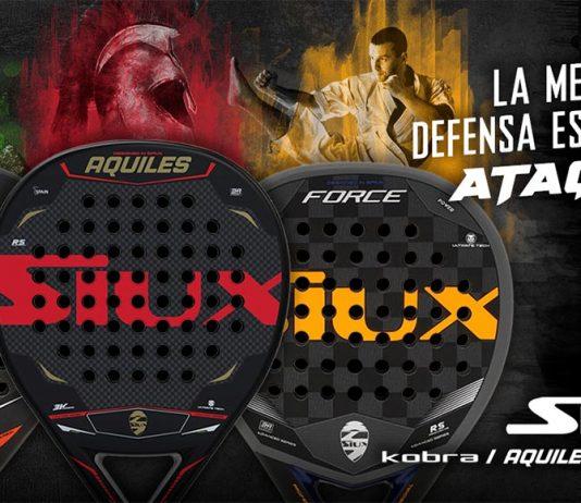 Siux lanza al mercado las nuevas Aquiles, Kobra y Force