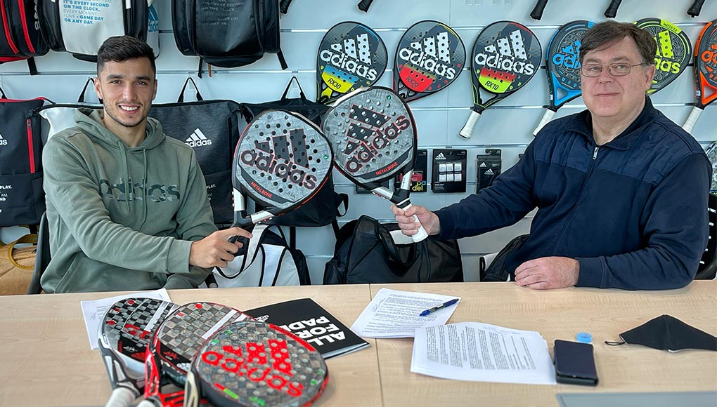 Ale Galán and adidas padel consolidate their union for the next 3 seasons