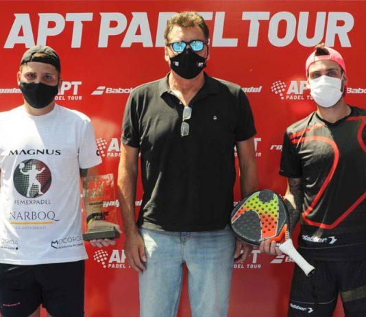 Alfonso y Chiostri ganan el Paraguay Master y pasan a liderar el ranking APT Tour