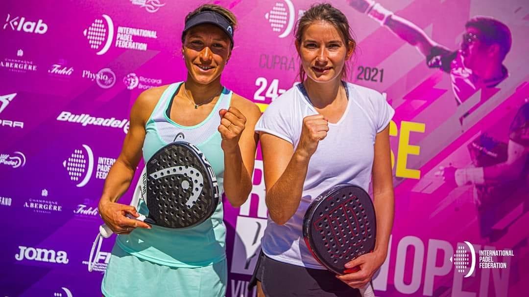Alix Collombon y Jess Ginier se impusieron a la italiana Giulia Sussarello y Chiara Pappacena