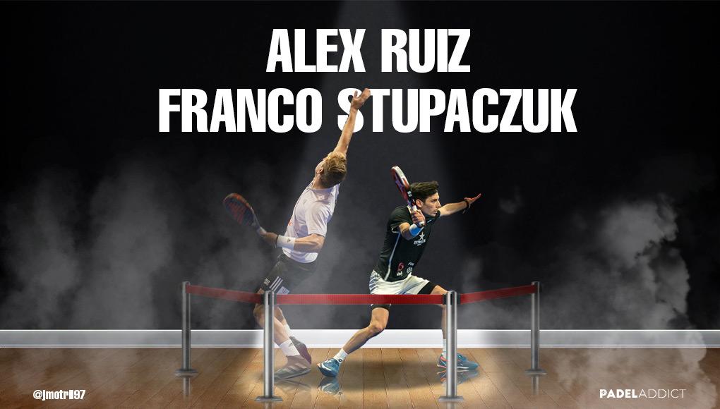 ¿Funcionará la pareja formada por Álex Ruiz y Franco Stupaczuk?
