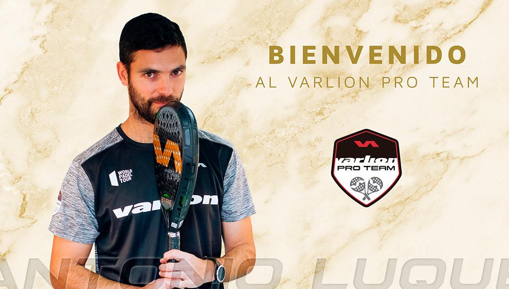 El jugador Antonio Luque, nuevo integrante del Varlion Team