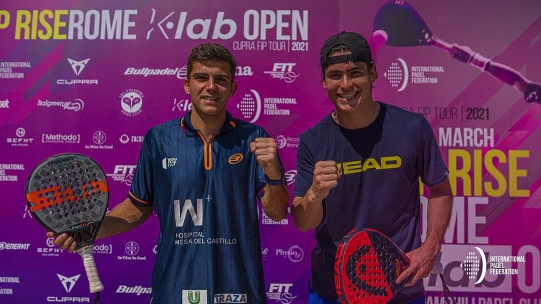 Chipi Muñoz y Javier García ganaron el FIP Rise Rome