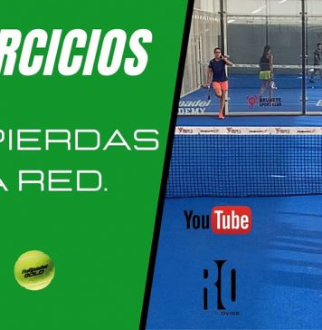 Rodri Ovide teaches us this exercise so as not to lose the net