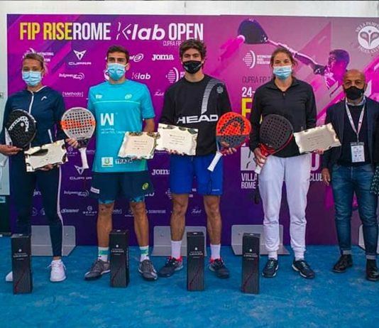 Chipi Muñoz/Javier García y Alix Collombon/Jess Ginier se llevan el FIP Rise Rome
