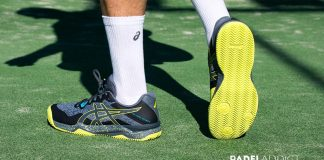 Gel-Padel Ultimate, the slippers of pádel highest-end ASICS