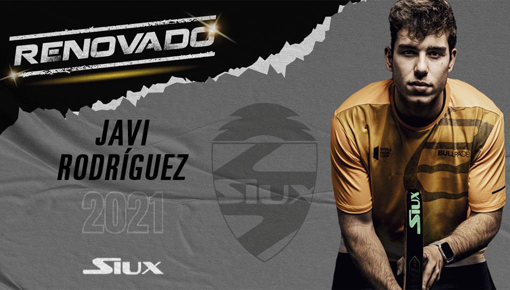 Javi Rodríguez renews with Siux in its sixth season