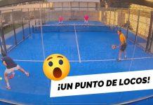 El punto de locura de Chipi Muñoz y Juan Martín Díaz en Mad4Padel