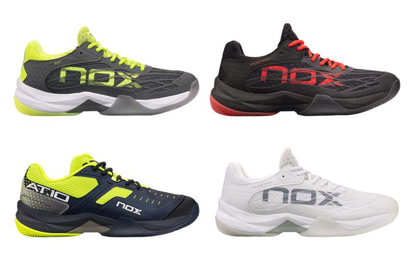 Imagenes de las zapatillas que componen la primera colección de calzado Nox