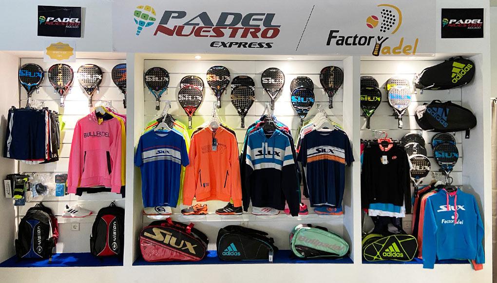 Padel Nuestro by Factory Padel, nueva tienda de pádel en Talavera