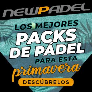 Los mejores packs de pádel para esta primavera...¡En NewPadel!