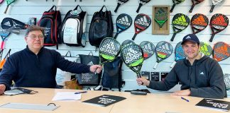 Seba Nerone and adidas padel will continue to add together in 2021