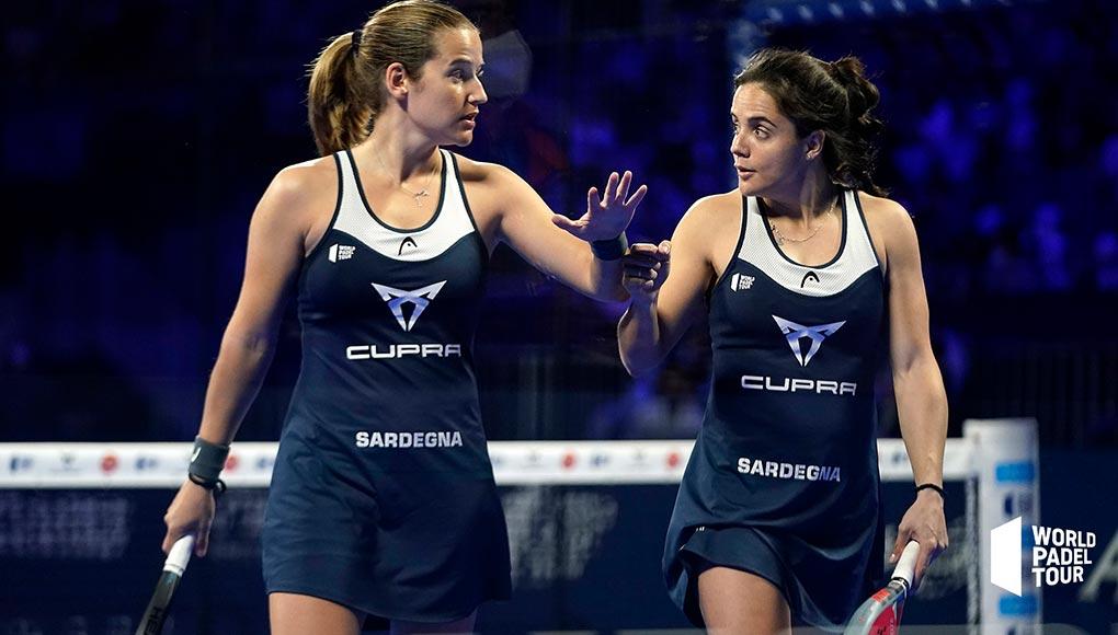 Paula y Ari se coronan campeonas en el primer torneo del año