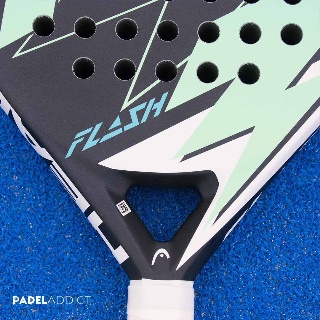 HEAD Flash Grey Blue, una pala con una gran relación calidad-precio.