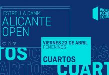 Sigue este viernes el streaming de los cuartos del Alicante Open