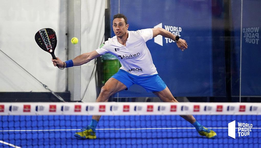 Fernando Poggi se clasifica para la previa del Adeslas Madrid Open