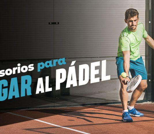 Equipment pádel to jump on the track