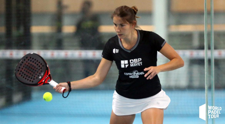 Jessica Castelló y Alix Collombon no dan tregua a Carolina Navarro y Ceci Reiter