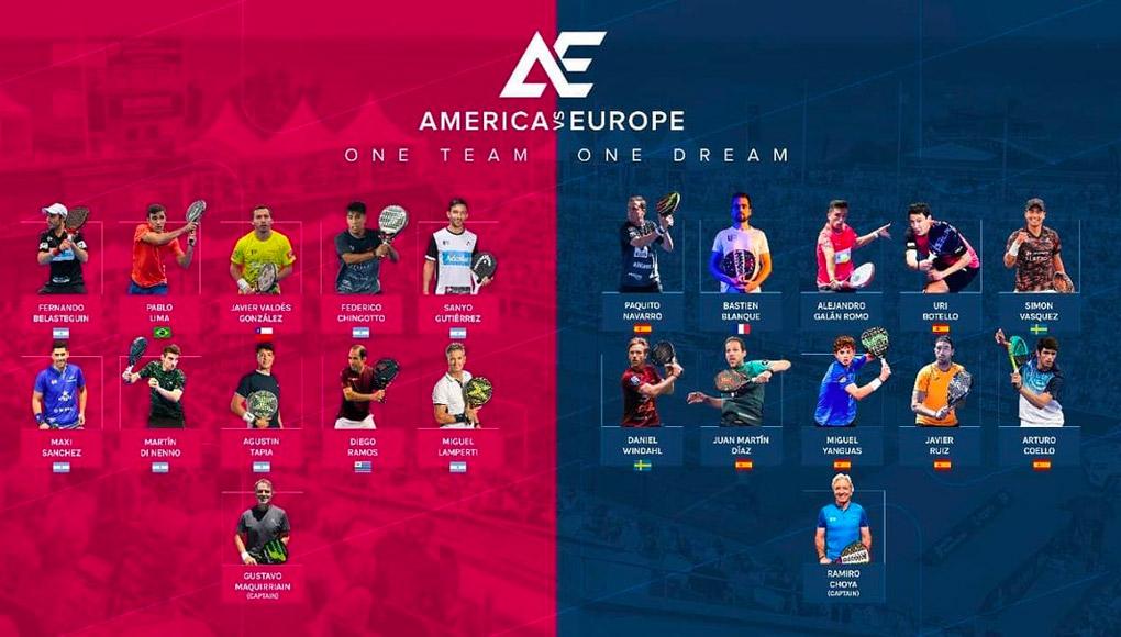Estos son los jugadores que estarán en el América VS Europa