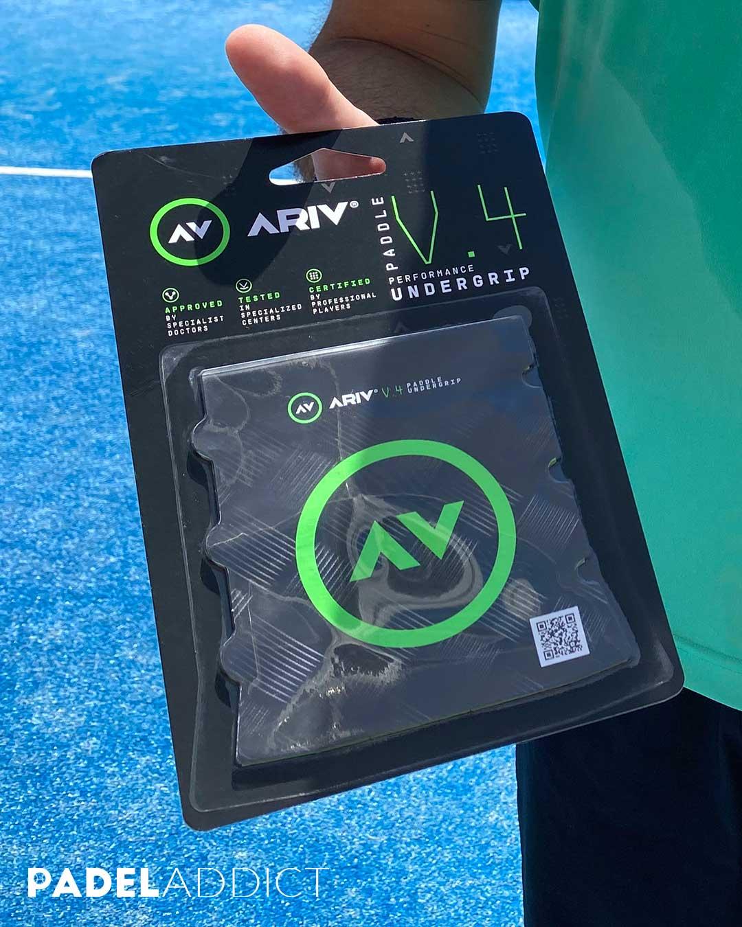 Una de las principales ventajas del ARIV undergrip es que llega a absorber hasta el 70% de las vibraciones