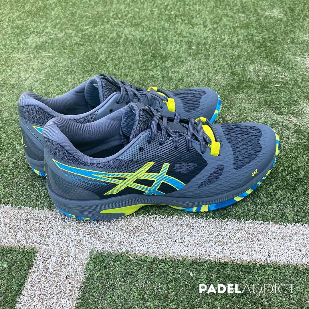 Las zapatillas Gel Lima FF Padel están pensadas para ese jugador de nivel avanzado o experto que juega varias veces en semana