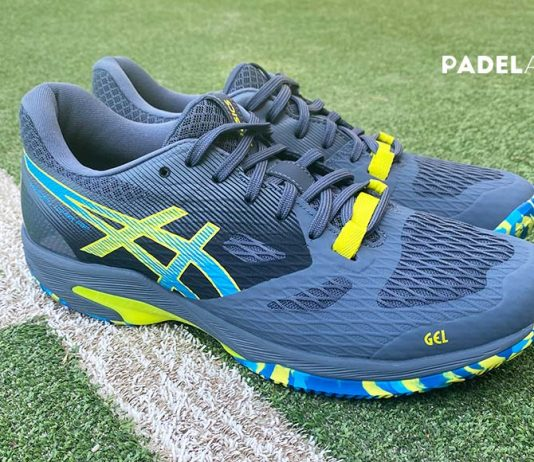 Asics Gel Lima FF Padel, so are the shoes of pádel by Pablo Lima