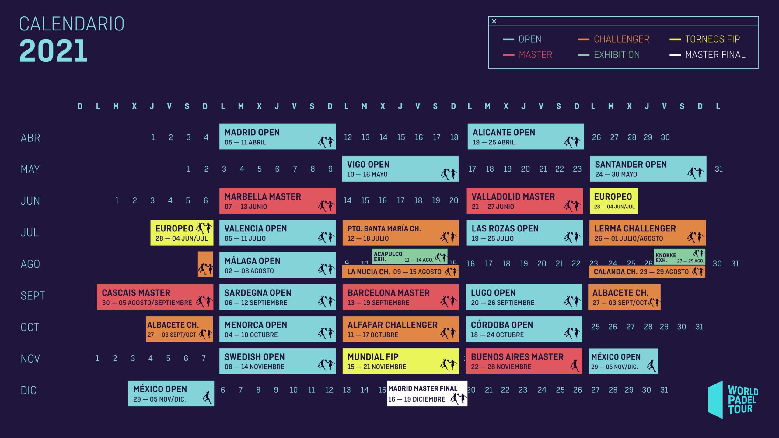 Así queda el calendario del WPT Challenger tras los últimos cambios