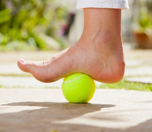 Plantar fasciitis, a common injury to the pádel