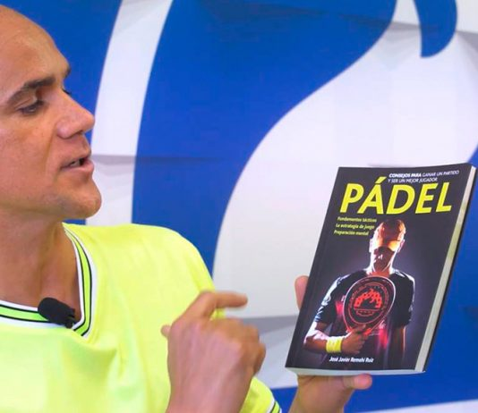 J'hayber prepares a new guide to pádel with José Javier Remohí