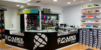 The second store arrives Padel Our to Seville