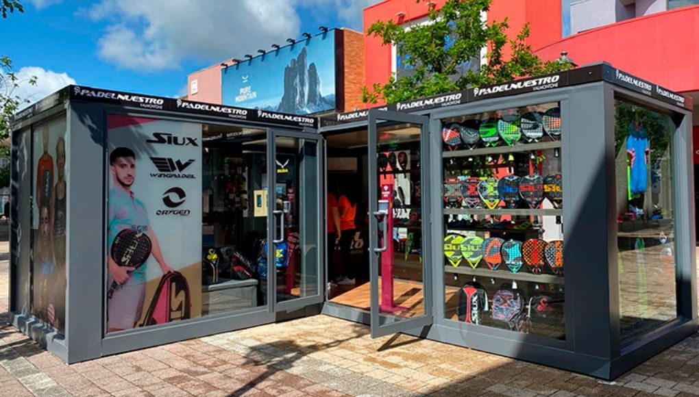 Padel Our Valmontone, fourth store Padel Our in Italy
