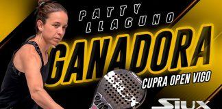 Patty Llaguno, first player Siux to win an Open