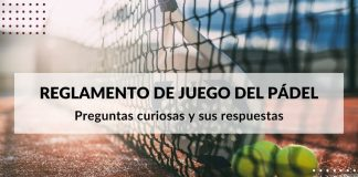 Curious questions and their answers in the padel game regulations