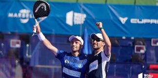 The Gutiérrezes, uncle and nephew, debuted with the sixteenth of the Marbella Master 2021